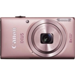 Canon Ixus 132 Pink Camera Kit inc 8GB SD Card and Case