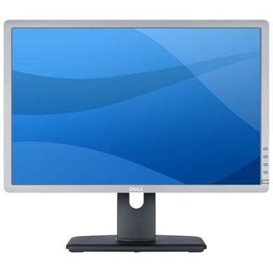 dell P2213 56cm 22 INCH Wide LED VGA DVI Display PORT 2 x USB Height Adjust Pivot Silver