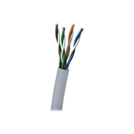 CablesToGo Cables To Go 305M Cat6 550MHz UTP Solid PVC CMR Cable Grey