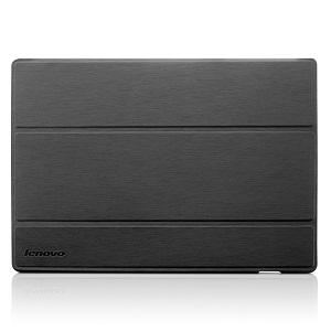 Grey Case S5000 - Lenovo S5000 Folio Case and FilmDark gray