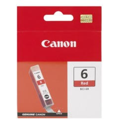 Canon 8891A002AA BCI6R Red Ink