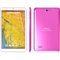 Hipstreet Electron Quad Core 1.3GHz 8GB Android 5.0 Tablet - Pink