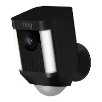 Ring Battery Spotlight Camera - Black