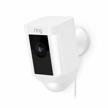 Ring Spotlight Cam 1080p HD Battery Powered - White
