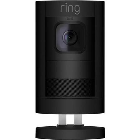Ring Stick Up Cam 1080p HD Battery Powered - Black