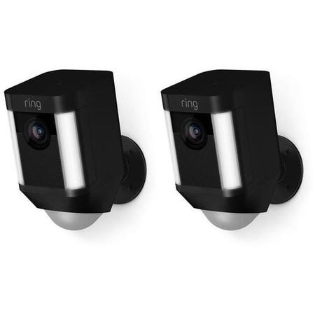 Ring Battery Spotlight Cam Duopack - Black