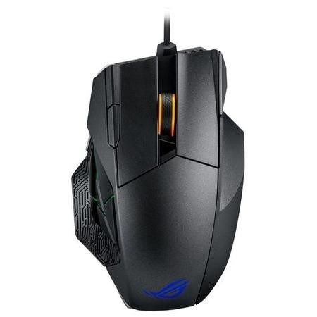 90MP00A1-B0UA00 Asus ROG Spatha Mouse - USB 2.4GHz - Titanium Black