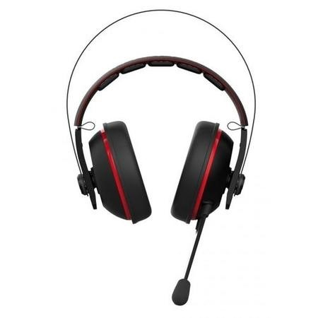Asus Cerberus V2 Over Ear Gaming Headset - Black/Red