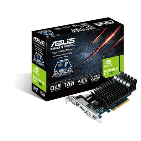 Asus GeForce GT730 1GB DDR3 PCI-Express 2.0 Graphics Card