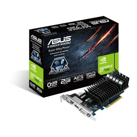 Asus NVidia GeForce GT 720 2GB GDDR3 Graphics Card