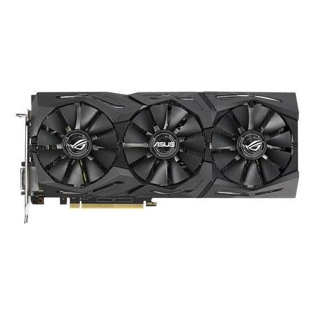 ROG Strix GeForce GTX 1070 Ti Advanced 8GB GDDR5 with Aura Sync RGB for best VR & 4K Gaming