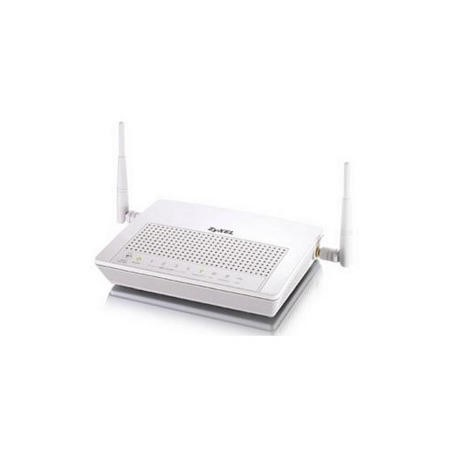Zyxel Prestige 661HNU 300Mbps 802.11n Wireless ADSL2 VPN Router with 4-port 10/100 switch and 10 IPSec VPN terminations.