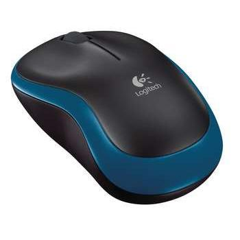 Logitech Wireless Mouse M185 in Blue & Black