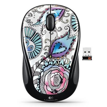 Logitech Wireless Mouse M325 - Floral Foray
