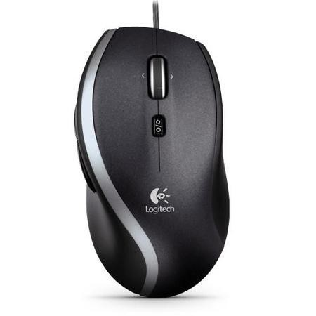 Logitech Corded M500 Wired Mouse