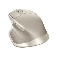 Logitech MX Master - Mouse - laser - 5 buttons - wireless - Bluetooth 2.4 GHz - USB wireless receiver - stone