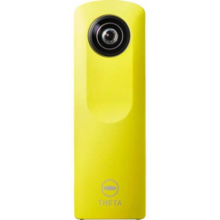 Ricoh Theta M15 Camera Yellow 360 degree