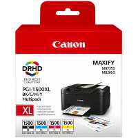Canon PGI-1500XL C/M/Y/BK Mulitipack High Yield Ink Cartridge