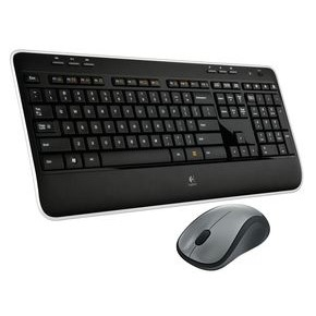 Logitech MK520 Wireless keyboard and Mouse Combo - Black