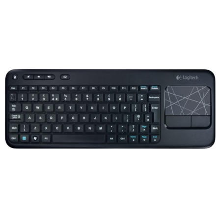 Logitech Wireless Touch Keyboard K400 - Black
