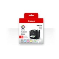 Canon IB4050 / MB5050 / MB5350 Ink XL Cartridge Multipack. Contains black cyan magenta and yellow.