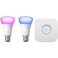 Philips Hue White and Colour Ambiance Mini Starter Kit B22