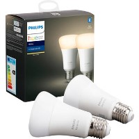 Philips Hue Warm White E27 Twin Pack