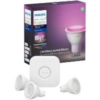 Philips Hue White and Colour Ambiance GU10 Triple Pack