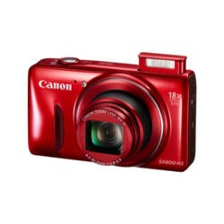 Canon PowerShot SX600 HS 16 MP Digital camera - Red