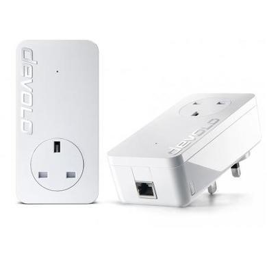 Devolo dLAN 1200 Plus Gigabit Ethernet Powerline Starter Kit