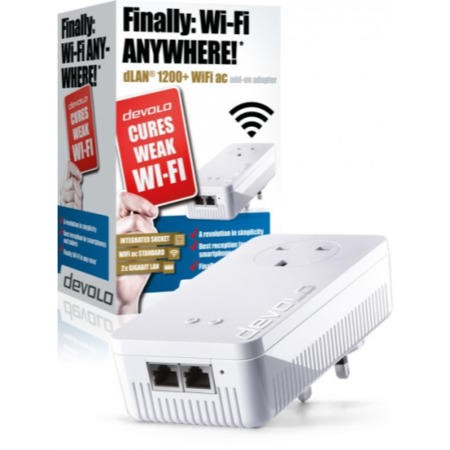 Devolo dLAN powerline 1200 Plus WiFi ac Gigabit Ethernet