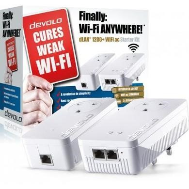 Devolo dLAN powerline 1200+ WiFi ac Starter Kit