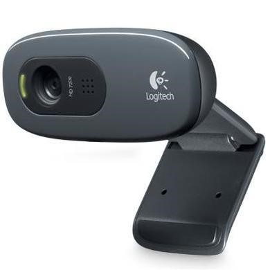 Logitech 960-000903 C270 HD Webcam - Ink Gears