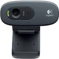 Logitech C270 HD Webcam with Microphone