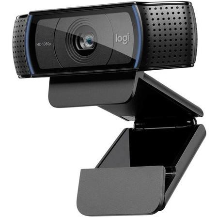 Logitech HD Pro Webcam C920 - Web camera - colour - 1920 x 1080 - audio - USB 2.0 - H.264