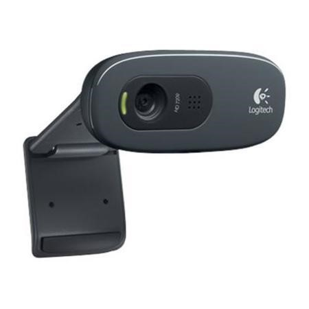 Logitech C270 HD Webcam with Built in Microphone