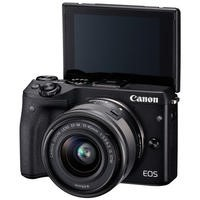 Canon EOS M3 Compact Mirrorless Camera + EF-M 15-45mm Lens