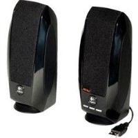 Logitech S150 Digital USB Portable USB Speakers in Black