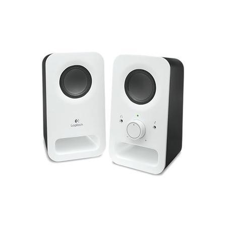 Logitech Z150 Multimedia Speakers - Snow White