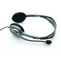 Logitech Stereo Headset H110 with Noise-Cancelling Microphone For PC