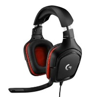 Logitech G332 Gaming Headset Leatheratte - EMEA