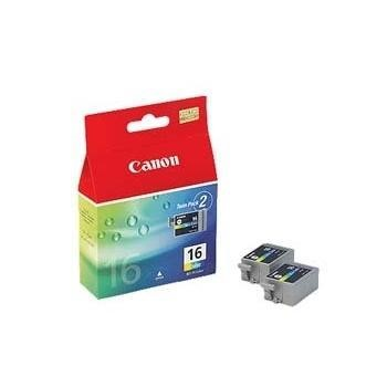 Canon 9818A002AA BCI16C Colour Ink