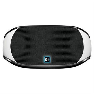 Logitech Mini Boombox for Tablets and Smarthphones - White