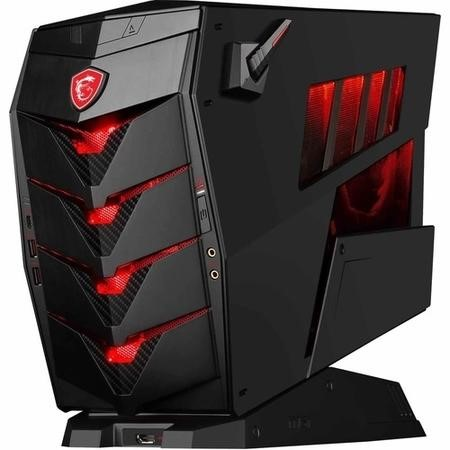 9S6-B90911-010 MSI Aegis X3 Core i7-7700K 16GB 2TB + 2x 256GB SSD GeForce GTX 1080 Windows 10 Gaming Desktop