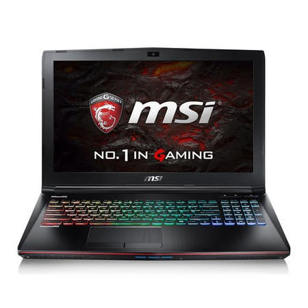 MSI Apache Pro GE62VR 6RF-027UK Core i7-6700HQ 16GB 1TB + 256GB SSD GeForce GTX 1060 6GB DVD-RW 15.6 Inch Windows 10 Gaming Laptop with Accessories