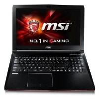 Refurbished MSI GP62MVR 7RFX Core i5-7300HQ 8GB 1TB & 256GB GTX 1060 3GB 15.6 Inch Windows 10 Gaming Laptop