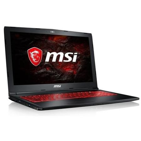A1/9S7-16JBE2-1269 Refurbished MSI GL62MVR 7RFX-1269UK Core i5-7300HQ 8GB 256GB SSD GeForce GTX 1060 15.6 Inch Windows 10 Gaming Laptop