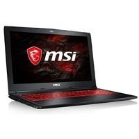 MSI GL62MVR 7RFX-1269UK Core i5-7300HQ 8GB 256GB SSD GeForce GTX 1060 15.6 Inch Windows 10 Gaming Laptop