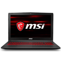 MSI GV62 8RC Core i7-8750H 8GB 1TB 15.6 Inch Nvidia GeForce GTX 1050 2GB Windows 10 Gaming Laptop