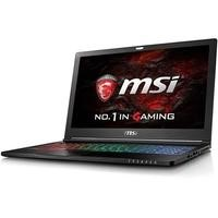 MSI GS63VR 7RF Stealth Pro Core i7-7700HQ 8GB 2TB + 256GB SSD 15.6 Inch GeForce GTX 1060 6GB Windows 10 Home Gaming Laptop